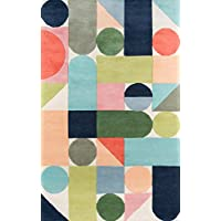 Novogratz Delmar Collection Wright Area Rug, 23 x 80 Runner, Multicolor