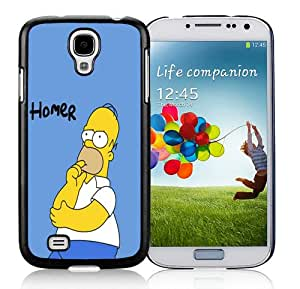 Unique Samsung Galaxy S4 I9500 Case ,Popular And Durable Designed With Homer Simpson HD-640x1136 wallpapers Black Samsung Galaxy S4 I9500 Cover