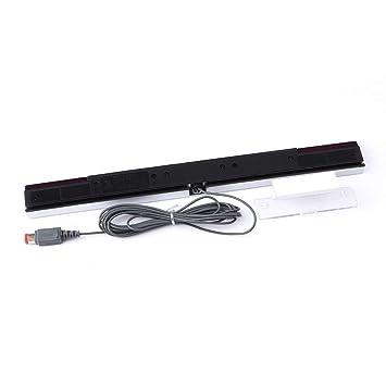 Hemore - Barra de Inductor infrarrojo con Sensor de Movimiento por Cable para Nintendo Wii: Amazon.es: Electrónica