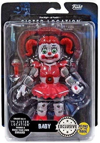 Figura Baby 13 cm. Five Nights at Freddys. Se ilumina en la oscuridad (GITD). Sister Location. Funko: Amazon.es: Juguetes y juegos