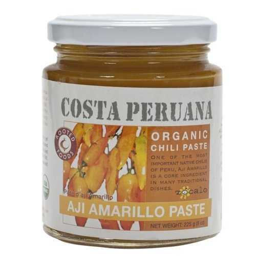 Zocalo Peru Organic Aji Amarillo Chili Paste, 8 - Pepper Aji Amarillo