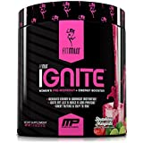 FitMiss Ignite, Women's Pre-Workout Supplement and Energy Booster for Fat Loss, Supports Energy & Workout Motivation, Strawberry Margarita, 30 Servings