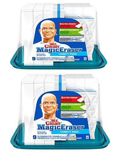 mr clean magic eraser cleaning pads 9 count box 2 boxes buy online in uae products in. Black Bedroom Furniture Sets. Home Design Ideas