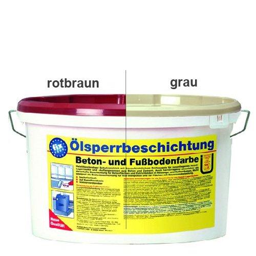 Pufas Fix2000 Ö lsperrbeschichtung 5 Liter rotbraun