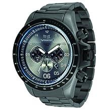 Vestal Men's ZR3017 ZR-3 Brushed Gunmetal Chronograph Watch