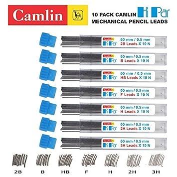 B 10 PACK CAMLIN HI PAR MECHANICAL PENCIL LEADS REFILL 0.5//0.7//0.9//2.0 MM 0.9mm