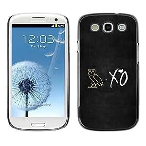 GagaDesign Phone Accessories: Hard Case Cover for Samsung Galaxy S3 - XO Night Owl