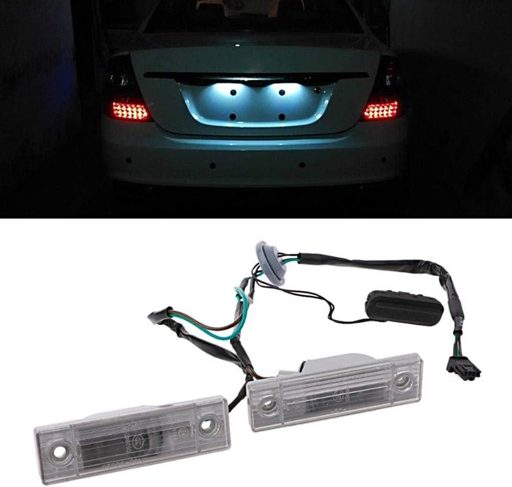 nakw88 Nummernschildbeleuchtung mit Kofferraumschalter f/ür Chevrolet Cruze 2009-2014