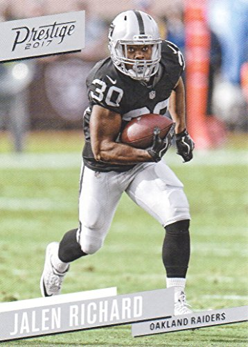 2017 Panini Prestige Football #162 Jalen Richard Oakland Raiders by Prestige