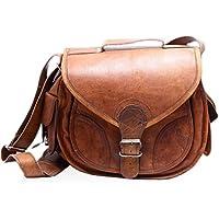 CoolStuff Gypsy Genuine Leather DSLR SLR Vintage Camera Shoulder Messenger Bag Camera Satchel …