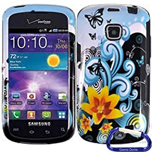 Gizmo Dorks Hard Skin Snap On Case Cover for the Samsung Illusion I110, Yellow Lily