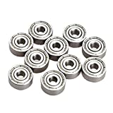 TOOGOO(R) 10 Pieces Miniature Radial Ball Bearings 623ZZ 3x10x4mm for RC Car Practico