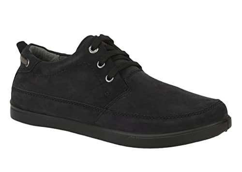 2462dc3c3c16 Woodland Men s Black Leather Sneakers-10 UK India (44 EU) (GC 1759115)  Buy  Online at Low Prices in India - Amazon.in