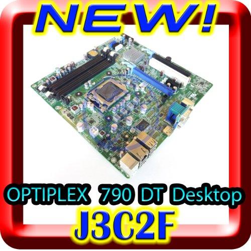 [Genuine Dell OEM Dell Optiplex 790 Motherboard Mainboard Systemboard for Desktop DT Model Chassis, Dell Part Number J3C2F 0J3C2F, Intel LGA1155] (Intel Part)