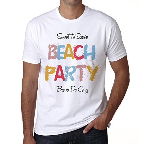 Barra Da Cruz, Beach Party, tshirt men, beach tshirts, gift tshirt (Party City Las Cruces)