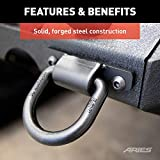 ARIES 2081300 Heavy-Duty Tow Hooks Anti-Rattle