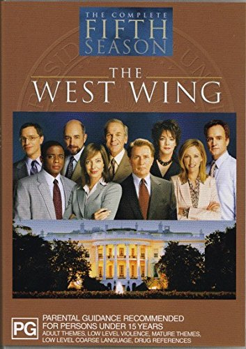 The West Wing Season 5 | 6 Discs | NON-USA Format | PAL | Region 4 Import - Australia