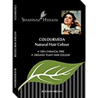 Shahnaz Husain Colourveda Natural Hair Colour Blackish Brown 100g (Pack of 3)