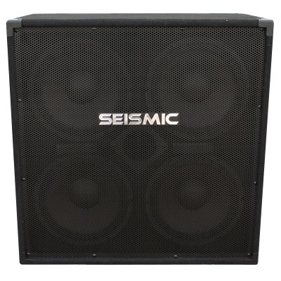 Seismic Audio - 410 Bass Guitar Speaker Cabinet with Horn PA DJ 400 Watts 4x10 4 10 by Seismic Audio