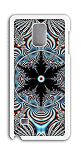 NBcase Dazzling Blue Pattern Hard PC cases for galaxy note4