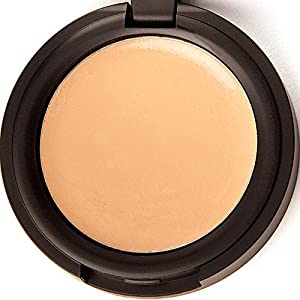 Concealer Cream Full Coverage Organic Makeup Best For Under Eye Dark Circles, Blemishes, Acne, Rosacea On Face From Fair Light Dark Shades - Fresh