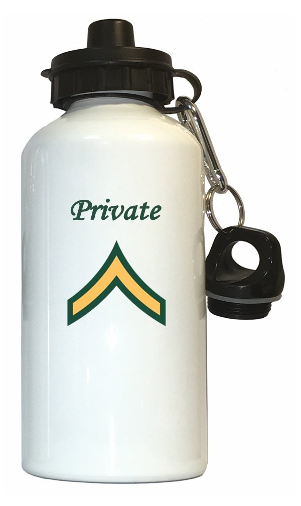 プライベート – US Army水ボトルホワイト B01N3OUHCW
