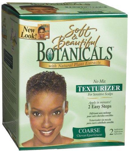 Soft and Beautiful Botanicals No Lye No Mix Texturizer Coarse 2 Applications by Soft & Beautiful