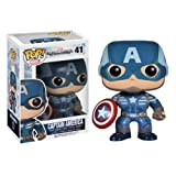 'Funko POP Heroes: Captain America Movie 2 - Captain America Action Figure' from the web at 'https://images-na.ssl-images-amazon.com/images/I/51N4%2BhLt7TL._SL160_.jpg'