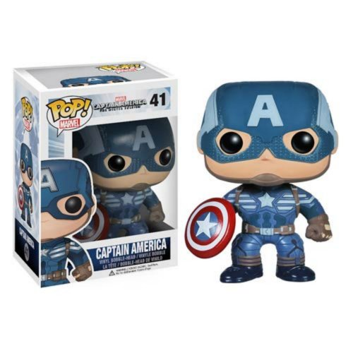 Funko POP Heroes: Captain America Figure