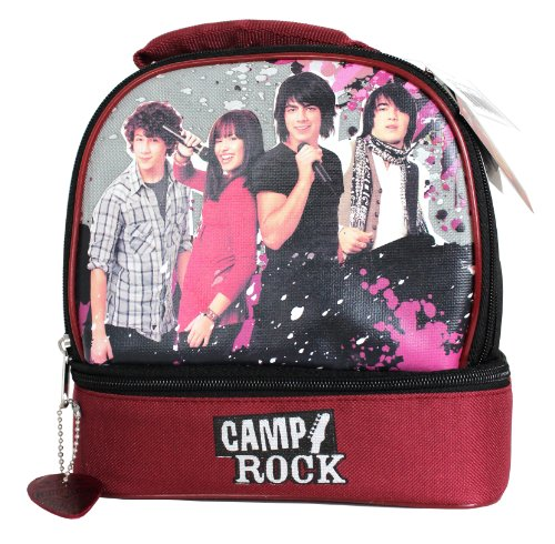 Jonas Brothers and Mitchie Insulated Lunch Kit from Disney's Camp Rock (Jonas Rock Brothers)