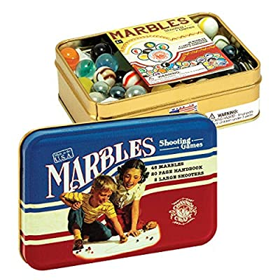 Channel Craft Classic Toy Tin Series - Jumbo Jacks, Marbles, and Tiddly Winks: Toys & Games