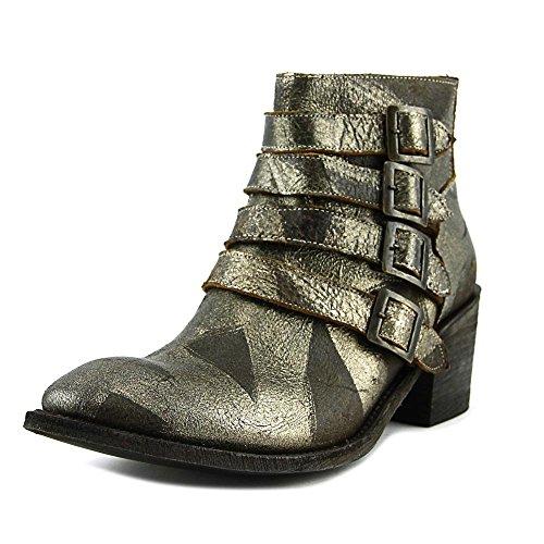 Womens Bronze Cowboy Boots - 4