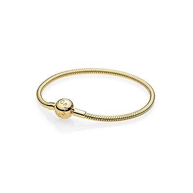 4a1edd1b2 Amazon.com: PANDORA Smooth PANDORA Shine Clasp Bracelet: Jewelry