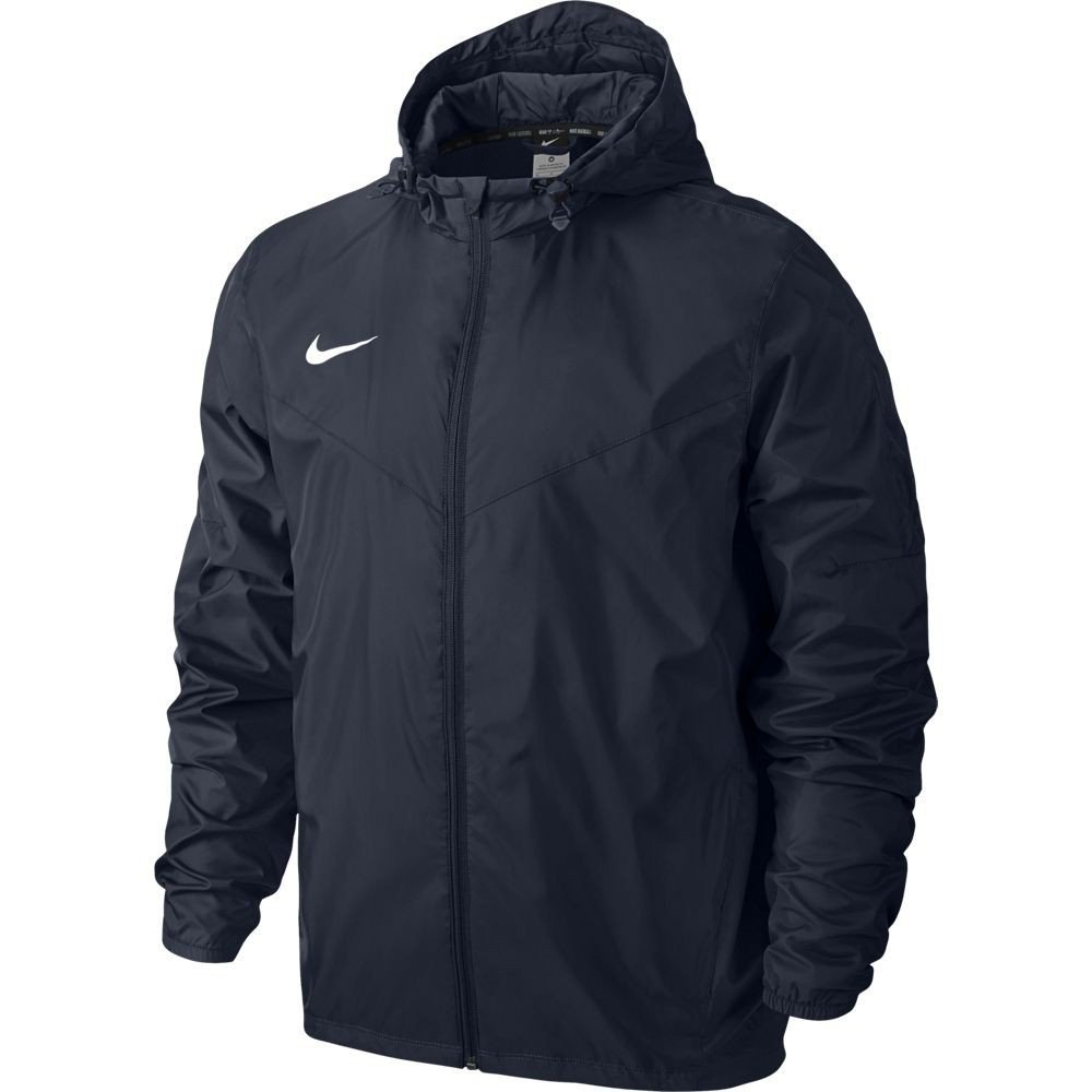 2016-2017 VFL Wolfsburg Nike Rain Jacket (Navy) B00SLSPIFA Small 34-36