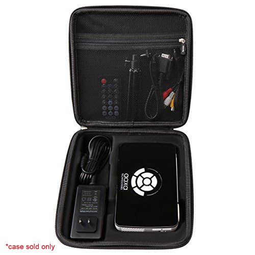 Aproca Hard Travel Storage Case Bag Fit AAXA Technologies P300 Pico Projector