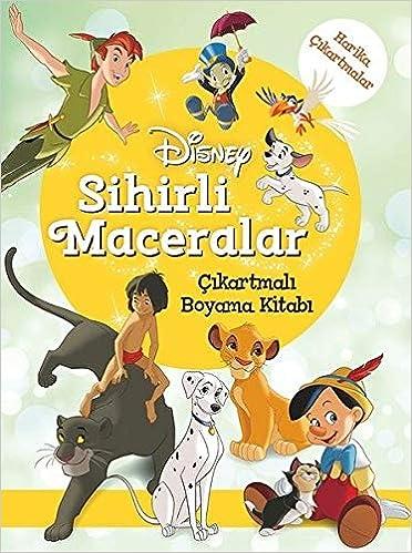 Disney Sihirli Maceralar Cikartmali Boyama Kitabi Collective