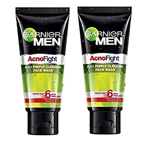 Garnier Men's Acno Fight Face Wash - 100ml (Pack Of 2)