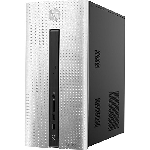 HP Pavilion 550-153wb Desktop PC with Intel Core i3-4170 Dual-Core Processor, 6GB Memory, 23 Monitor, 1TB Hard Drive – Win 10 Ho