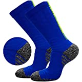 FASTBON Compression Socks 10-20mmHg Men & Women - Best Athletic & Medical Running, Flight, Travel, Blood Circulation & Recovery (1,2, 3, 6 Pair)