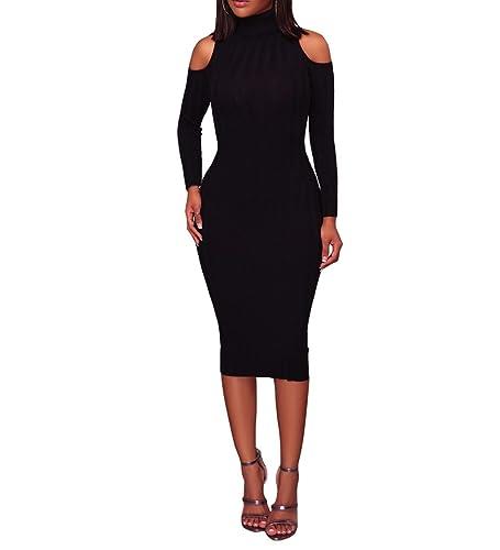 AllForYou -  Vestito  - Sera  - Maniche lunghe  - Donna L 38