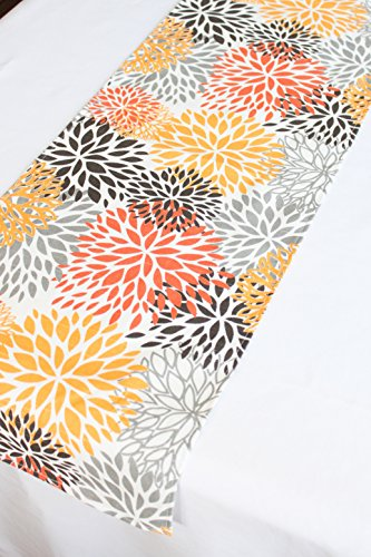 Fall Table Runner 12x96 inches by Cayson Décor