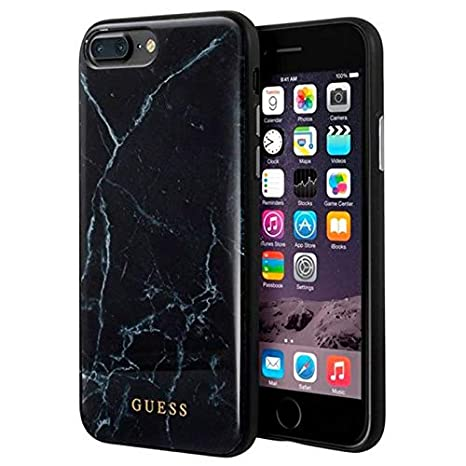 Guess GUHCI8LHYMABK Marble Cover for Apple iPhone 8: Amazon