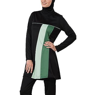 cab209060d1 Amazon.com: Earthy Burkini Modest Swimsuit-Final Sale Item: Clothing