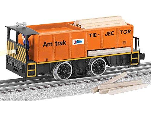 Lionel  Amtrak Command Control Tie-Jector, Orange, black, Yellow,; O -