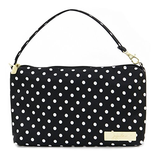 JuJuBe Be Quick Baby Wipe Carrying Case/Detachable Wristlet, Legacy Collection - The Duchess Dots Baby Wipe Case