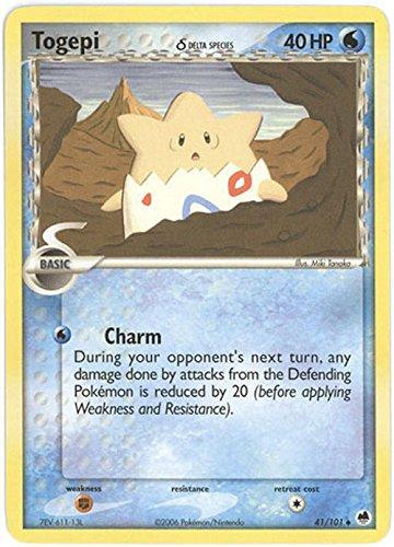 Amazon com: Pokemon - Togepi δ (41) - EX Dragon Frontiers