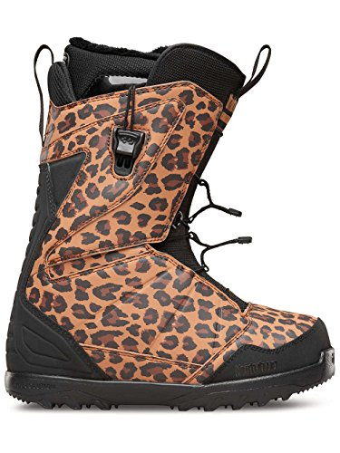 Thirtytwo Lashed Fast Track Women's Snowboard Boots, Animal, Size 8