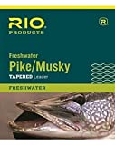 #10: Rio Fishing Products Pike/Musky II Leader 7.5ft, 2 Pack