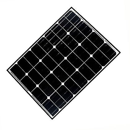 Image of Drain Cleaning Equipment ALEKO 90W 24V 90-Watt Monocrystalline Solar Panel