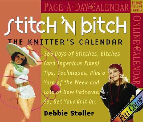 Stitch Bitch 2007 Page Calendar product image